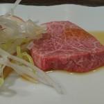 大阪屋 - お好み焼肉(ラム芯)
