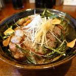 まんぷくや - 料理写真:A5飛騨牛薄切りサーロイン丼
