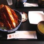 むらい - ロースカツ丼(ソース)1550円