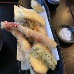 手打ちそば天ぷら 那央人 - 海鮮蕎麦の天ぷら