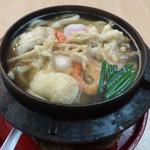 ニュー松屋 - 鍋焼きうどん