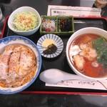 78933153 - ミニかつ丼セット1000円
