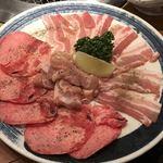 焼肉屋大平門 - 肉大皿(お気軽ミニセット)