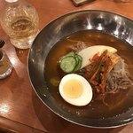焼肉屋大平門 - 韓国冷麺ハーフ(お気軽ミニセット)