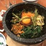 焼肉屋大平門 - 石焼きビビンバ・スープ付き(お気軽ミニセット)