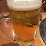 焼肉屋大平門 - 生ビール(中ジョッキ)