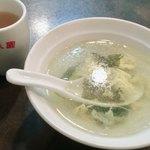78934215 - 牛バラカレーご飯に付く中華スープ
