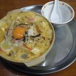 萬寿亭 - 料理写真:チゲちゃんぽん@950