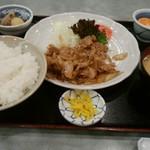 78934798 - 豚の生姜焼き定食