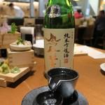炉ばた えんてんか酒場 - 栃木の地酒「鳳凰美田」 1合700円