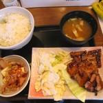 78935011 - 国産豚バラ焼定食730円