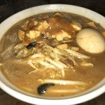 旨辛タンメン ファイヤーマウンテン - ファイヤー味噌タンメン・麺少な目(750円)