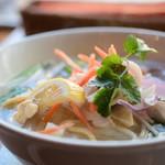 Bangkok Oriental Thai Restaurant - ランチセット:フォー&チャーハン@税込970円