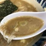 三三七 - 【2018.1.2】粘度高い鶏魚介つけ汁。