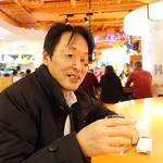 フーターズ - 大学時代の親友・・昔は、唐沢寿明のようにカッコよくてモテモテだったんだけどな(笑)