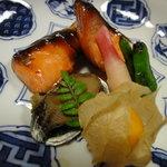 ふじ万 - 料理写真:焼き物