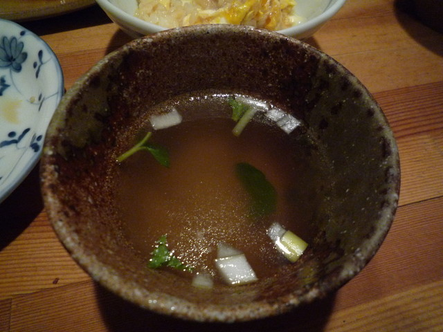 バード コート - 鶏のスープ♪