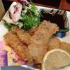 食い処あだち - 料理写真:真イワシ御膳のフライ