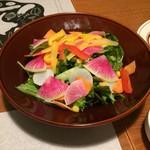 Cafe&BarbecueDiner パブリエ - 12種野菜サラダ