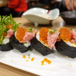 俺のやきとり - 俺の巻き寿司(ハーフ)