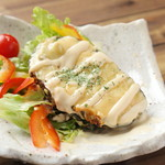 お肉と魚と貝のどれもこれも - アボガドチーズ