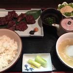 福光 - 牛ハラミ定食¥1290