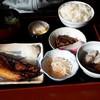 まるきち - 料理写真:焼き魚(ほっけ)定食