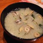 古都 - あさり大椀味噌汁