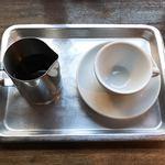 78945610 - ドリップコーヒー ビフツ グディアナ注ぐ前