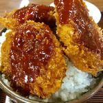 78950322 - ヒレソースカツ丼(大盛)【料理】