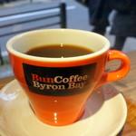 バン コーヒー バイロン ベイ - モーニングコーヒー300円