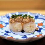 78952104 - 虎河豚のお寿司、あん肝