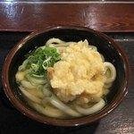 讃岐うどん大使 東京麺通団 - あつかけ(小)とかしわ天('18/01/05)