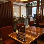 珈琲茶館 集 - 入口近くの席