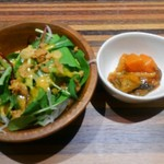 78955004 - サラダと野菜トマト煮