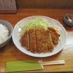 とんかつ 燕楽 - 料理写真:カツランチ