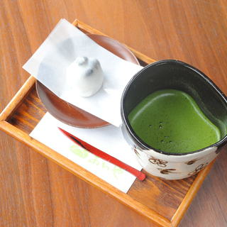 伝統の西尾抹茶