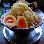 ラーメンビリー - 料理写真:味玉ラーメン 880円 野菜増し/ニンニク無