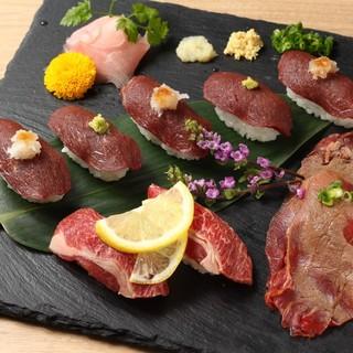 肉寿司ランチ始めました♪