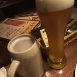 78961147 - ヴァイスビール990円とレーベンブロイ870円