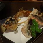 ゆんたく屋 - ◆ グルワンの唐揚げ (年中取れる白身魚)