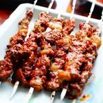 馬記 蒙古肉餅 - ラム肉の串焼き