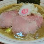 煮干中華そば鈴蘭 - 濃厚塩煮干そば 730円