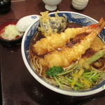 紅葉川 - 「天ぷらそば」