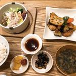 九州 弁天堂 - *おかずが2種類選べる定食*