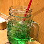 九州 弁天堂 - クーポンでサービス♥メイソンジャードリンク。種類は、選べます♪