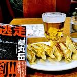 78966449 - 餃子と生ビール