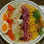 ラーメンまっくうしゃ - 新潟麺スタグラム参加商品『虹みそ  880円』これは芸術でしょ。