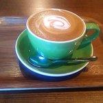 狸穴 Cafe - カプチーノ