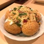 カフェと印度家庭料理 レカ - ダヒ・シェウ・プリ
